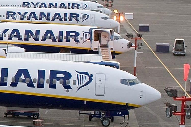 Ryanair Каунас Пафос