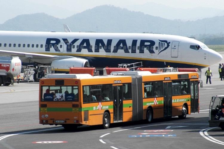 Ryanair Милан Бергамо