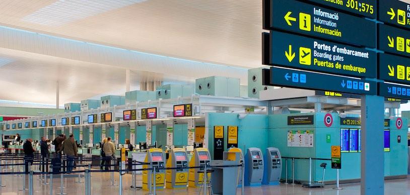 Аэропорт Барселона Эль-Прат, дешевые авиабилеты Ryanair из Барселоны