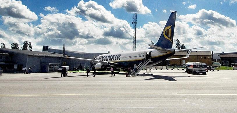 Ryanair из Стокгольма