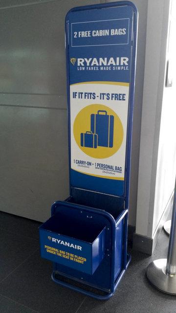 Ryanair багаж - новые правила провоза багажа авиакомпании Ryanair
