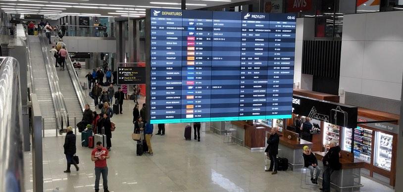 Аэропорт Краков. Рейсы Ryanair Краков