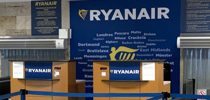 Ryanair распродает авиабилеты по ценам от 9 евро в одну сторону